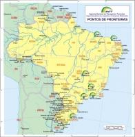 Mapa das Rodovias Brasileiras